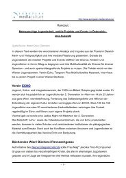 Beispiele - European MediaCulture