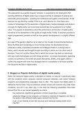 Digital poetics or On the evolution of - European MediaCulture - Page 3