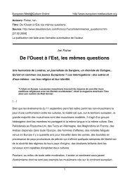 Ian Fisher - European MediaCulture