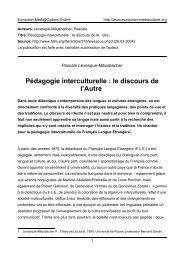 Pascale Levesque-Mäusbacher - European MediaCulture