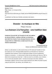 Philippe Chauveau - European MediaCulture