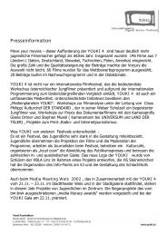 Pressetext - European MediaCulture