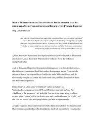 Femempowerment - European MediaCulture