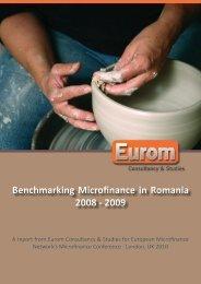 Benchmarking Microfinance in Romania 2008 - 2009 - Eurom ...