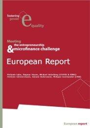 Meeting the Entrepreneurship and Microfinance Challenge