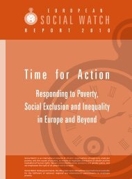 Time for Action - Responding to Poverty, Social Exclusion - Eurostep