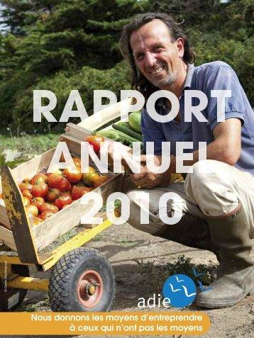 Rapport d'activité 2010 de l'ADIE