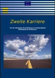 Europa - Zweite Karriere - Von der abhängigen Beschäftigung zur ...