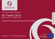 EU Funds 2013 - European-microfinance.org
