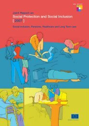 Social Protection and Social Inclusion [ 2007 ] - Turismabile