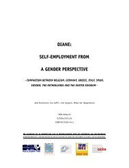 DIANE: SELFJEMPLOYMENT FROM A GENDER PERSPECTIVE
