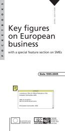 Key figures on European business, with a ... - Eurostat - Europa