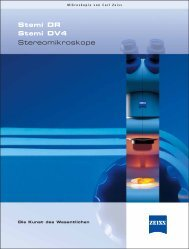 Stemi DR Stemi DV4 Stereomikroskope