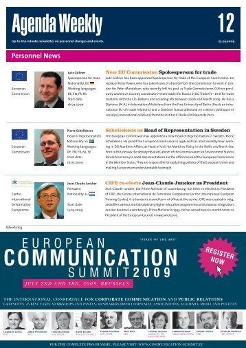 25 Mar 09 - European Agenda