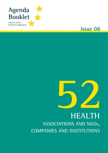 52 Health - European Agenda
