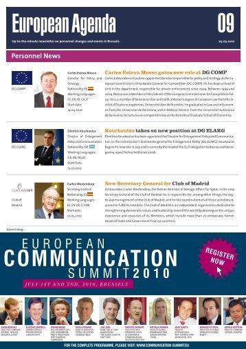 05 May 10 - European Agenda