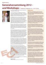 Generalversammlung 2012 - European Choral Association - Europa ...