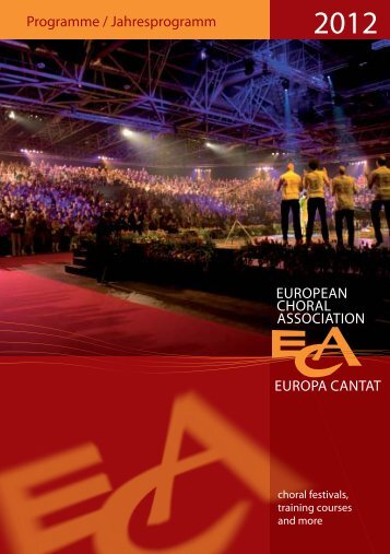 Here - European Choral Association - Europa Cantat