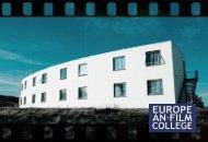 EFC information folder - Take a look - The European Film College