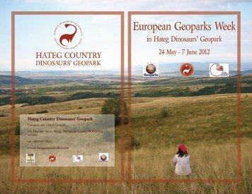 Hateg Country Dinosaurs Geopark - European Geoparks Network