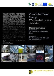 neutral urban districts - European Green Cities Net