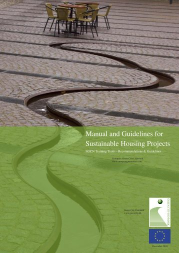 Manual and Guidelines for Sustainable Housing Projects