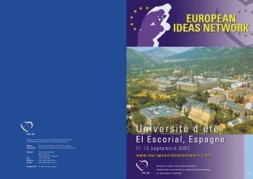 Groupe du Parti Populaire Européen - European Ideas Network