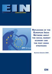 reflexions of the european ideas network about the social market ...