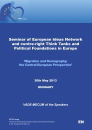 Vademecum - European Ideas Network