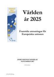 Världen år 2025 - European Ideas Network