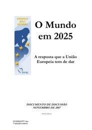 O Mundo em 2025 - European Ideas Network