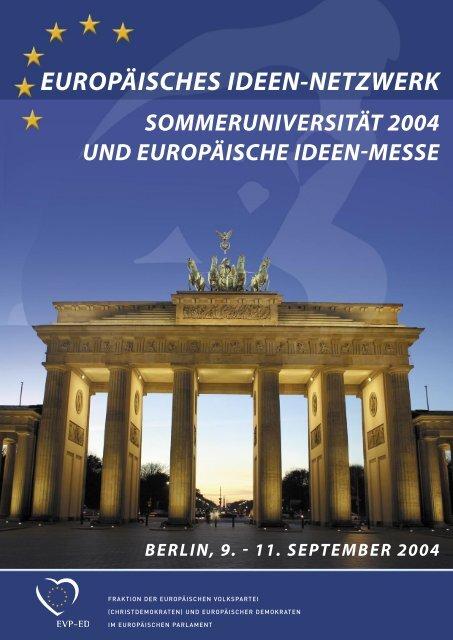 europäische ideen-messe - European Ideas Network