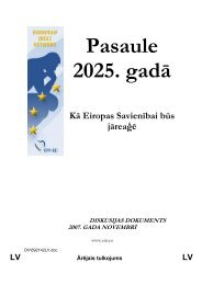 Pasaule 2025. gadā