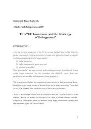 TF3 Final Report - European Ideas Network