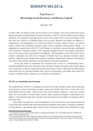 TF2 Final Report - European Ideas Network