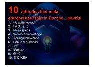 Walter De Brouwer - presentation - European Voice