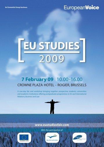 7 February 09 10.00-16.00 - European Voice