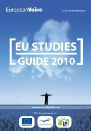 Guide 2010 - European Voice