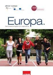 Das Wissensmagazin für Jugendliche - Netzwerk Europäische ...
