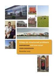 Krimp als structureel probleem - Provincie Groningen