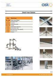 Flyer Smart Lean System - ASK GmbH