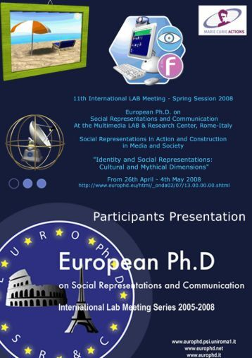 introduction - European Doctorate on Social Representations and ...