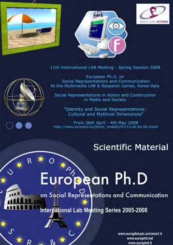 Butsch, R. - European Doctorate on Social Representations and ...