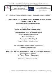 prof. Annamaria Silvana de Rosa - European Doctorate on Social ...
