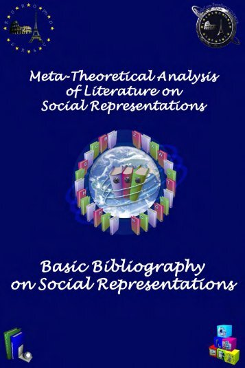 Basic Bibliography on Social Representations - European Doctorate ...