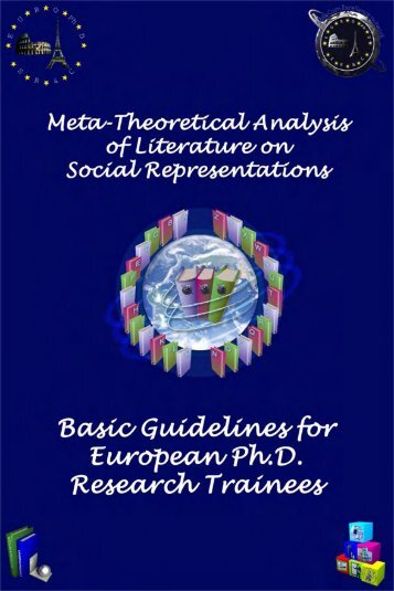 Basic Guidelines for European PhD Research Trainees