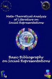 Basic Bibliography on Social Representations - European Doctorate ...