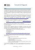 Université de Wuppertal Visa - Page 2