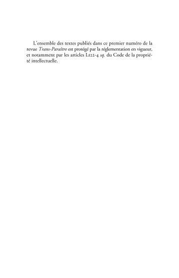 OUVRIR LE NUMERO (pdf)