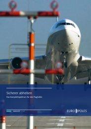 Broschüre Flughafen - Europoles